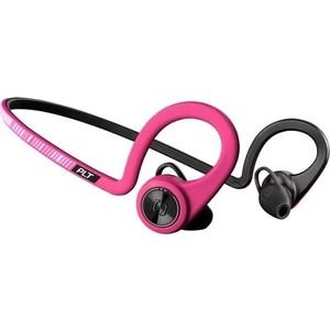 Наушники Plantronics BackBeat Fit розовый/черный цена и фото