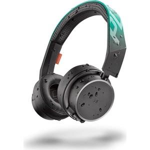 Наушники Plantronics BackBeat Fit 500 черный/зеленый