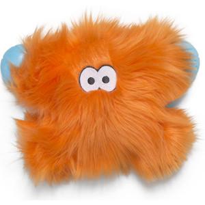 Игрушка Zogoflex Rowdies Fergus плюшевая оранжевая 24 см для собак (West Paw Design)