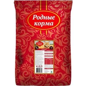 Сухой корм Родные Корма Телятина 26/12 для взрослых кошек 3/5 пуда 10 кг