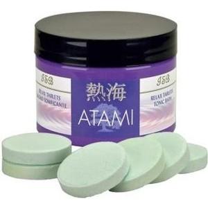 Таблетки Iv San Bernard ATAMI Relax Tablets релаксирующие таблетки для минеральных ванн животных в период линьки или после болезни 8 шт