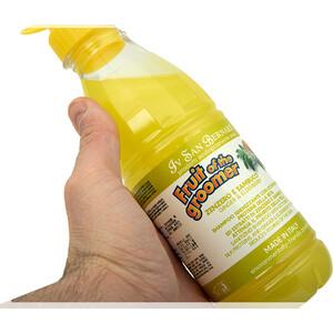 Шампунь Iv San Bernard Fruit of the Grommer Ginger & Elderbery Shampoo против раздражений и перхоти для любого типа шерсти животных 500 мл