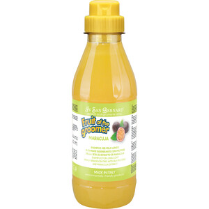 Шампунь Iv San Bernard Fruit of the Grommer Maracuja Shampoo for Long Coat с протеинами для длинной шерсти животных 500 мл цена