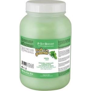 Маска Iv San Bernard Fruit of the Grommer Mint Tonifying & Refreshing Mask восстанавливающая с витамином B6 для любого вида шерсти животных 3 л