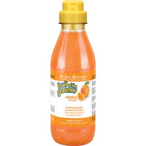 Шампунь Iv San Bernard Fruit of the Grommer Orange Strengthening Shampoo укрепляющий с силиконом для слабой выпадающей шерсти животных 500 мл