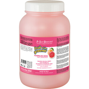 Шампунь Iv San Bernard Fruit of the Grommer Pink Grapefruit Shampoo for Medium Coat восстанавливающий с витамином B6 для шерсти средней длины 3.25 л