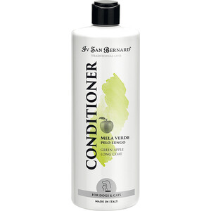 Кондиционер Iv San Bernard Traditional Line Plus Conditioner Green Apple Long Coat для длинной шерсти животных 500 мл