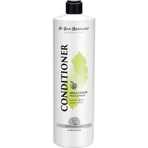 Кондиционер Iv San Bernard Traditional Line Plus Conditioner Green Apple Long Coat для длинной шерсти животных 1 л
