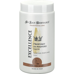 Пудра Iv San Bernard Traditional Line Excellence Powder Perfume Talc с ароматом талька для животных 80 гр