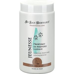 Пудра Iv San Bernard Traditional Line Jeunesse Powder Perfume Sandalwood с ароматом сандалового дерева для животных 80 гр