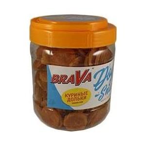 Лакомство BraVa Dog Snacks куриные дольки для собак 600 г (110690)