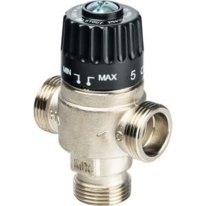 Смесительный клапан STOUT термостатический для систем отопления и ГВС 3/4 НР 30-65°С KV 2.3 (SVM-0025-236520) клапан предохранительный автоматический 1 2 вр нр 3 бара far для систем отопления