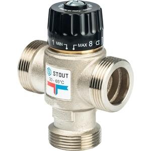 Смесительный клапан STOUT термостатический для систем отопления и ГВС 1 1/4 НР 30-65°С KV 3.5 (SVM-0025-356532) цены онлайн