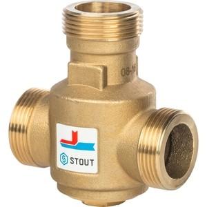 Смесительный клапан STOUT термостатический G 1 1/4 НР 55°С (SVM-0030-325504) цены онлайн
