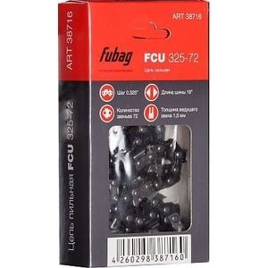 Цепь пильная Fubag 0.325 1.5 мм 72 звена FCU 325-72 (38716) шина пильная echo 20 3 8 1 5 72 звена s50r73 72aa et