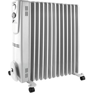 цена Масляный радиатор Vitek VT-2129(W) онлайн в 2017 году