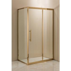 Душевой уголок Grossman 120x80 прозрачный, золото, правый (PR-120GQR)