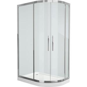 все цены на Душевой уголок Grossman 120x80 прозрачный, серебро, левый (PR-120SL) онлайн