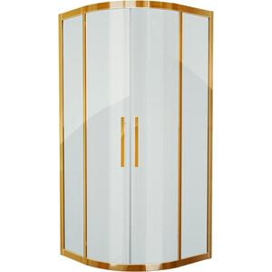 Душевой уголок Grossman 90x90 прозрачный, золото (PR-90G)
