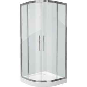 Душевой уголок Grossman 90x90 прозрачный, серебро (PR-90S) душевой уголок grossman 90x90x200 pr 90sq