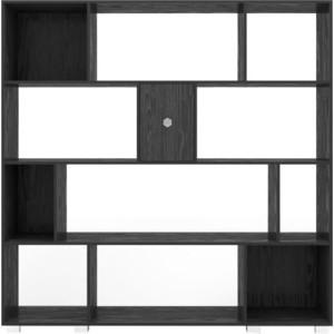 Стеллаж для документов Kulik System Aura 3001 черный стеллаж для документов kulik system aura 3001 шоколад