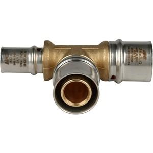 Тройник STOUT переходной 26х26х16 для металлопластиковых труб прессовой (SFP-0005-262616) stout тройник переходной 20x20x16 для металлопластиковых труб винтовой