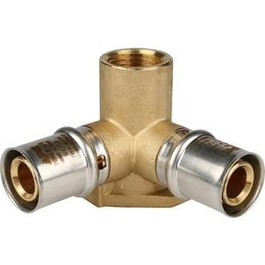 Тройник STOUT настенный с креплением 1/2 х 20 для металлопластиковых труб прессовой (SFP-0015-001220)