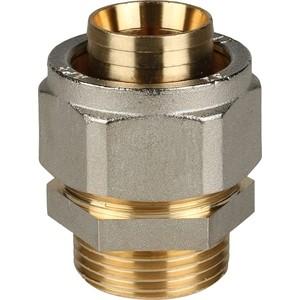 Переходник STOUT с наружной резьбой 1 х 32 для металлопластиковых труб винтовой (SFS-0001-000132) stout угольник переходник с наружной резьбой 1х32 для металлопластиковых труб прессовой