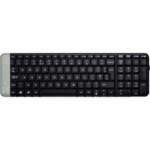 Клавиатура Logitech Wireless Keyboard K230 Black USB (920-003348) 2 4g wireless roll up flexible computer silicone keyboard blue