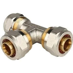 Тройник STOUT равнопроходной 26х26х26 для металлопластиковых труб винтовой (SFS-0009-000026)