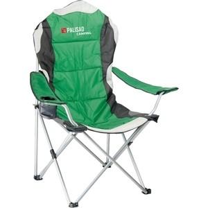 Кресло складное Palisad Camping с подлокотниками и подстаканником (69592)