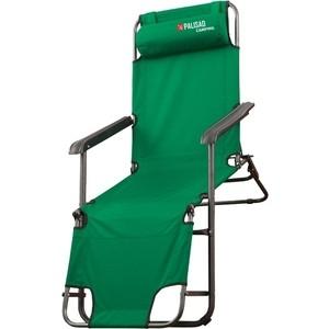 Кресло-шезлонг Palisad Camping двухпозиционное 156x60x82 см (69587)