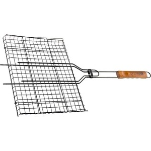 Решетка гриль Palisad Camping 260x350 мм антипригарное покрытие (69556) решетка гамбургер boyscout набор антипригарное покрытие арт 61346 23 23 3 51см