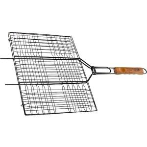 Решетка гриль Palisad Camping 300x400 мм антипригарное покрытие (69560) решетка гамбургер boyscout набор антипригарное покрытие арт 61346 23 23 3 51см