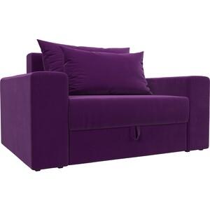 Кресло АртМебель Мэдисон микровельвет фиолетовый