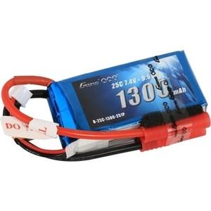 Аккумулятор Gens Li-Po 7.4 V 1300 mAh 25C (2S1P) - B25C13-2S аккумулятор traxxas li po 7 4в 2s 25c 3300мач