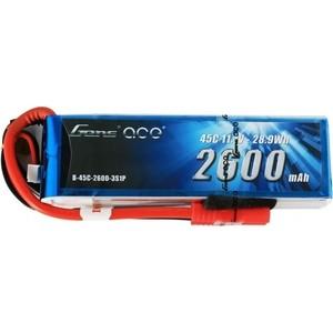 Аккумулятор Gens Li-Po 11.1 V 2600 mAh 45C (3S1P, EC3, XT60, Deans) - GA-B-45C-2600-3S1P-Deans