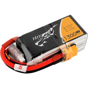 Аккумулятор Gens Li-Po 14.8 V 1300 mAh 45C (4S, XT-60, EC3, Deans) аккумулятор vant li po 7 4 v 2200 mah 45c 2s разъемы xt 60 deans ec3