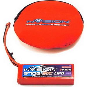 Аккумулятор nVision LiPo 14.8 V 4S 30C 3700 mAh - NVO1815 все цены