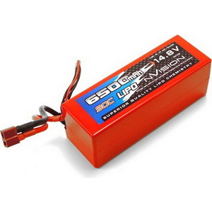 Аккумулятор nVision LiPo 14.8 V 4S 90C 6500 mAh - NVO1103 dji battery lipo 15 2v 4480 mah 4s for phantom 3