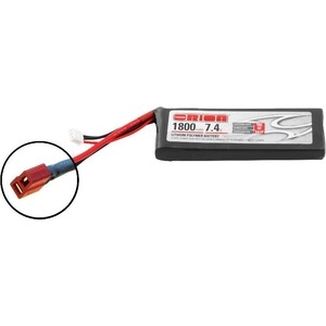 Аккумулятор Team Orion LiPo 7.4 V 2S 50C 1800 mAh - ORI60147 аккумулятор team orion carbon sport lipo 7 4 v 2s 45c 1800 mah ori14181