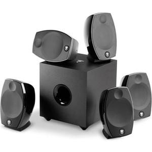 Комплект акустики FOCAL SIB EVO 5.1 black new angel black 246 250mm