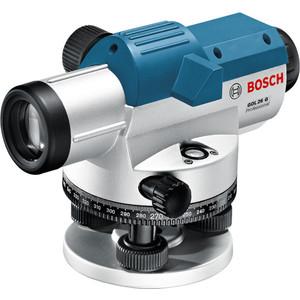 Нивелир оптический Bosch GOL 26D с поверкой (0.615.994.09Y)