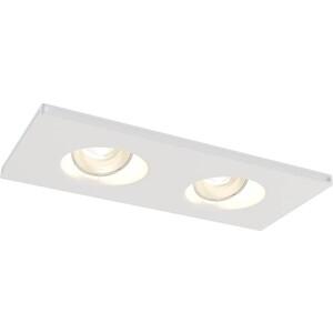 Встраиваемый светильник Maytoni DL002-1-02-W maytoni cl907 02 w