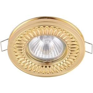 Встраиваемый светильник Maytoni DL301-2-01-G настенный светильник maytoni h301 01 g