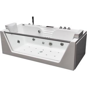 Акриловая ванна с гидромассажем Grossman 179x85x60 (GR-17985)