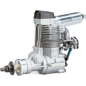 Двигатель Os Max FS120 SIII (70N) WF5020 SILENCER - 35540 двигатель os max max 95ax 61c we 4040 19120