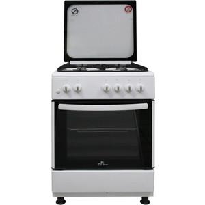 Газовая плита DeLuxe 606040.24-001г (кр) чуг реш белая цена и фото