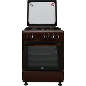 Газовая плита DeLuxe 606040.24-002г (кр) чуг реш коричневая цена и фото