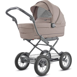 Коляска для новорожденных Inglesina Sofia на шасси Ergo Bike (AB15K6ACB + AE15H6100) ALPACA BEIGE дождевик inglesina для люльки vittoria sofia otutto a096ab100